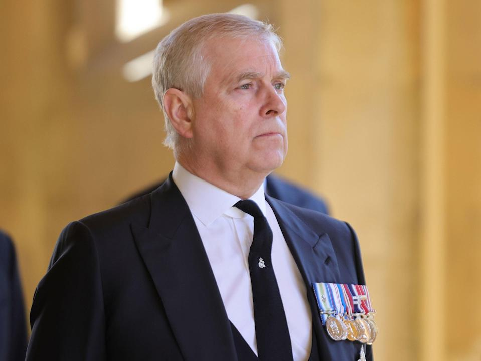 <p>Prince Andrew stepped back from public duties in 2019 following an interview over his ties to billionaire paedophile Jeffrey Epstein</p> (PA)