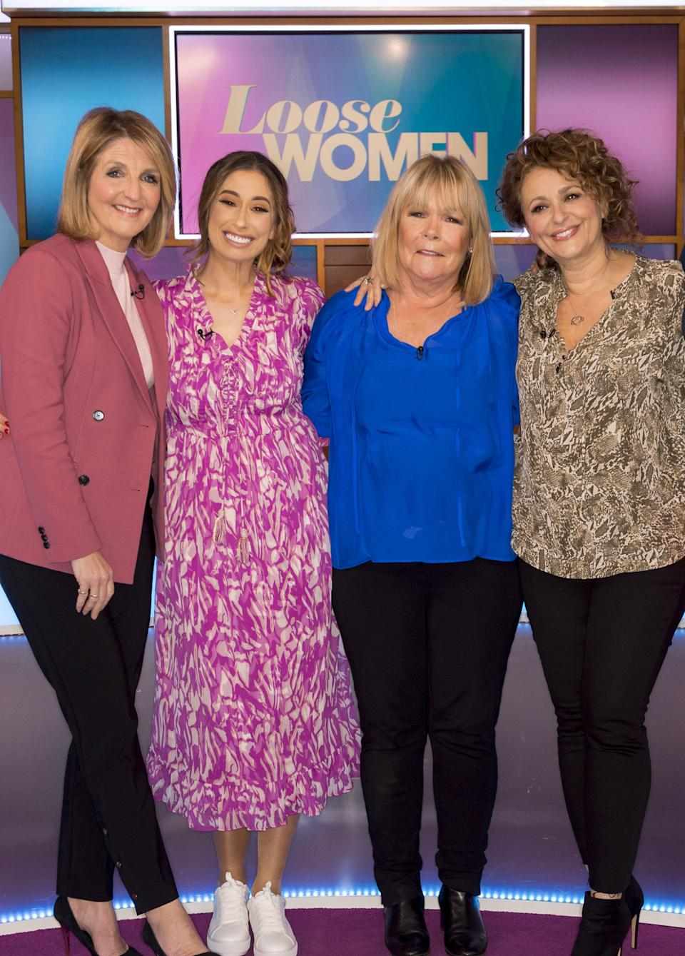 """Linda Robson was on holiday with her Loose Women co-stars when she suffered what she described as a """"meltdown"""" (Photo: Ken McKay/ITV/Shutterstock)"""