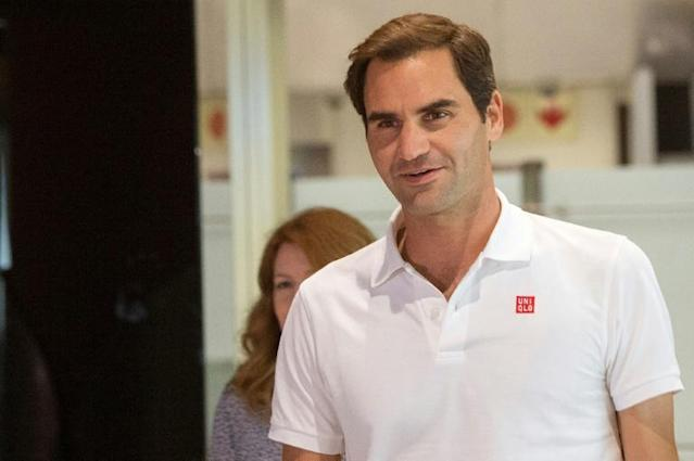 Swiss tennis star Roger Federer topped the Forbes magazine 2020 list of the world's highest-paid athletes announced Friday (AFP Photo/RODGER BOSCH)