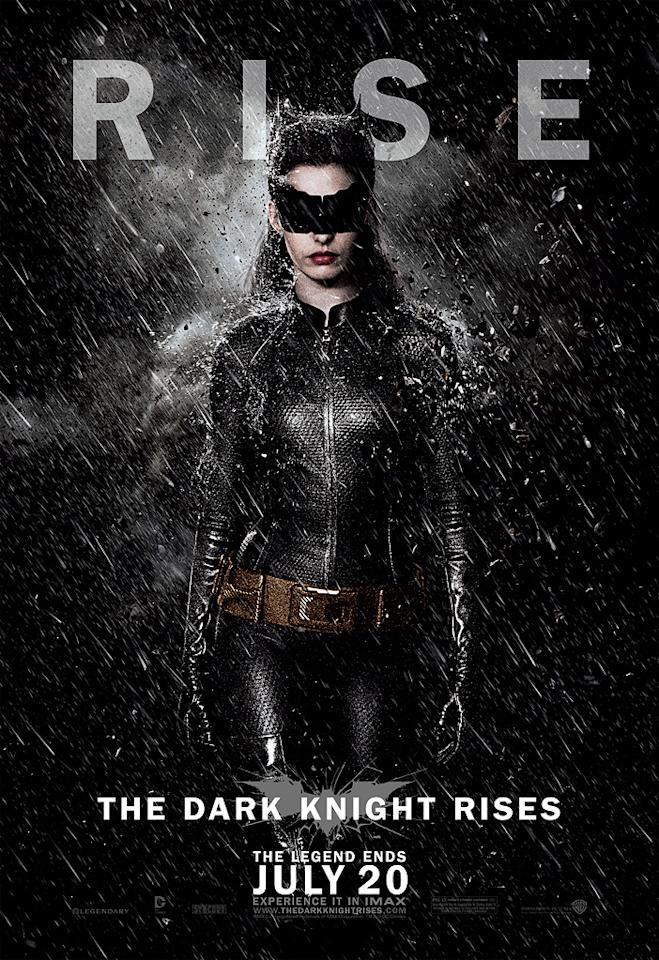 "Anne Hathaway as Catwoman in Warner Bros. Pictures' ""The Dark Knight Rises"" - 2012"