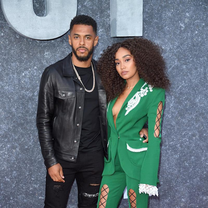 Leigh-Anne Pinnock Gave Us a Close-Up Look at Her Engagement Ring, and It's a Total Masterpiece