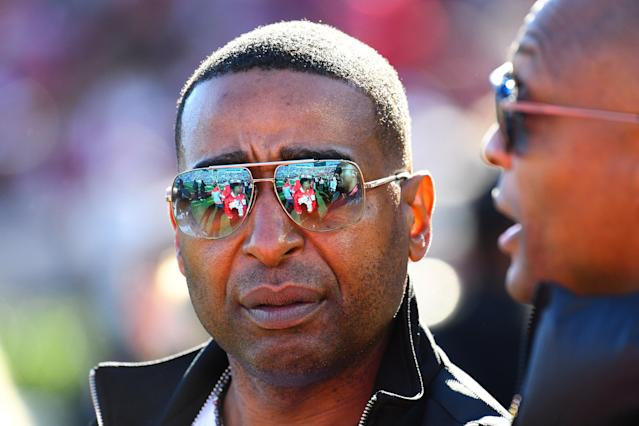 Cris Carter is no longer with Fox Sports. (Getty Images)