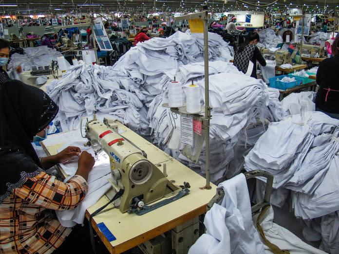 A garment factory in Cambodia. | Courtesy ReMake