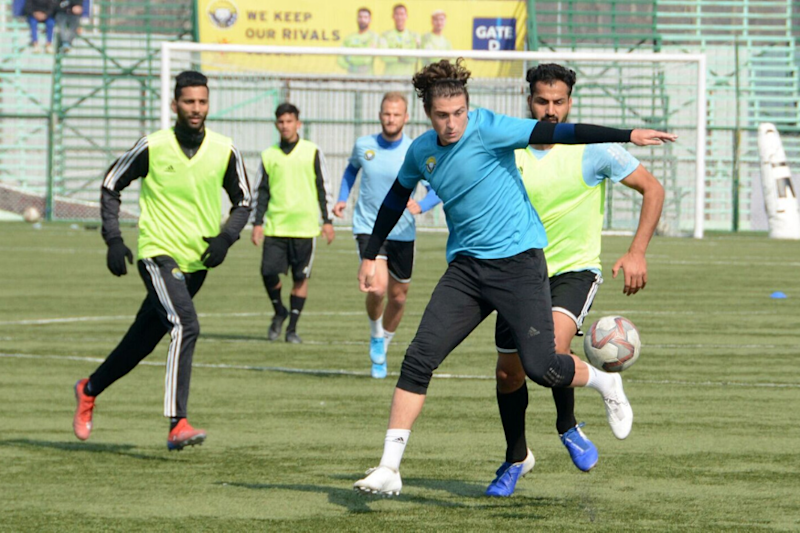 I-League 2019-20: Real Kashmir FC Eye Top 5 as They Host Indian Arrows
