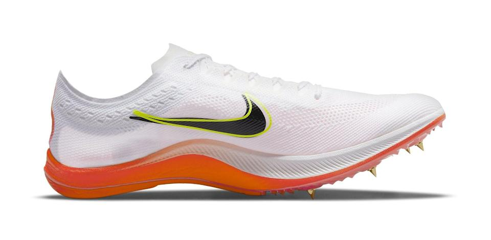"""The medial side of the Nike ZoomX Dragonfly """"Rawdacious."""" - Credit: Courtesy of Nike"""