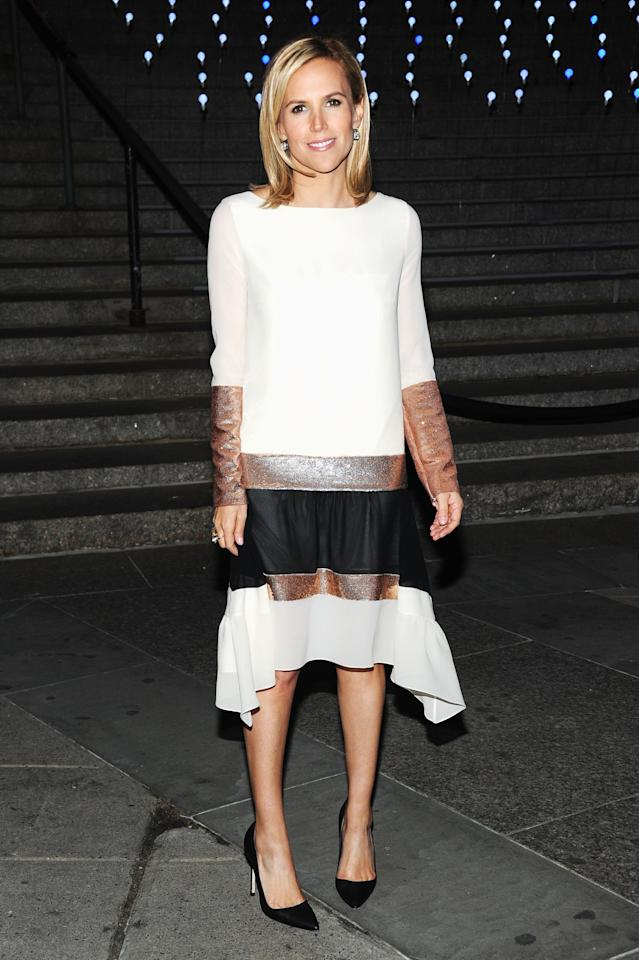NEW YORK, NY - APRIL 17:  Designer Tory Burch attends the Vanity Fair Party during the 2012 Tribeca Film Festival at the State Supreme Courthouse on April 17, 2012 in New York City.  (Photo by Jamie McCarthy/Getty Images)