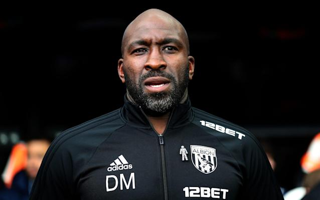 """The morning after masterminding West Bromwich Albion's win at Newcastle last weekend, Darren Moore was to be found in the humble environs of Halesowen, a small town in Dudley. He is one of the nominees for April's Premier League manager of the month, alongside Pep Guardiola, Jose Mourinho and former England managers Sam Allardyce and Roy Hodgson, after four games unbeaten as caretaker. Yet Moore was at Halesowen Town's Grove stadium last Sunday, taking charge of an Albion Legends XI for a charity game held as a tribute to Richard Eades, the club's former mascot who passed away on Boxing Day. Moore's presence was no surprise, and it epitomised the character and deeply caring nature of a man who has salvaged respect for Albion following a troubled season. West Brom could finally be relegated this weekend but Moore's influence over the past four weeks has been significant, clawing back some pride and repairing a dispirited dressing room post-Alan Pardew. """"All I'm doing is playing my part in a team of people here. I have got the title of caretaker manager, so I'm up here speaking on behalf of the football club,"""" Moore said on Friday, with typical understatement. """"It's great to be nominated alongside that calibre of managers, but I share that nomination with everybody here working hard behind the scenes."""" Premier League 