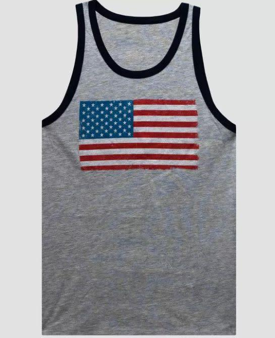 "Find this tank top for $10 at <a href=""https://yhoo.it/2BLDbN8"" rel=""nofollow noopener"" target=""_blank"" data-ylk=""slk:Target"" class=""link rapid-noclick-resp"">Target</a>."