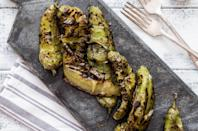 "<p>If you're from New Mexico or Arizona you probably already know this, but green chiles, which are very <a href=""https://www.thedailymeal.com/cook/best-southern-breakfast-recipes?referrer=yahoo&category=beauty_food&include_utm=1&utm_medium=referral&utm_source=yahoo&utm_campaign=feed"" rel=""nofollow noopener"" target=""_blank"" data-ylk=""slk:popular in the Southwest"" class=""link rapid-noclick-resp"">popular in the Southwest</a>, brighten up and add the right amount of heat to just about anything they come in contact with (especially burgers and queso). <a href=""https://www.thedailymeal.com/recipes/southwestern-scramble-recipe-0?referrer=yahoo&category=beauty_food&include_utm=1&utm_medium=referral&utm_source=yahoo&utm_campaign=feed"" rel=""nofollow noopener"" target=""_blank"" data-ylk=""slk:Same goes for eggs"" class=""link rapid-noclick-resp"">Same goes for eggs</a>.</p>"