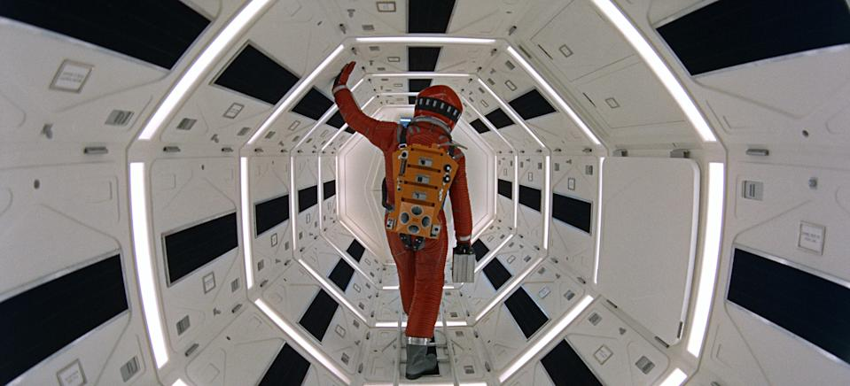 Keir Dullea stars in Stanley Kubrick's 1968 sci-fi classic, <em>2001: A Space Odyssey</em>, which is being rereleased for its 50th anniversary. (Photo: Courtesy Everett Collection)