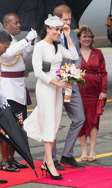 Harry and Meghan's royal tour of Fiji: all the best pictures from day one