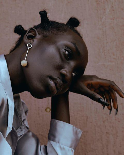"""<p>Do yourself a favor and click into Theresia Kyalo's Instagram page to see all the creative metal face pieces and linear jewelry on display. The brand doesn't have its own dedicated website, but you can shop some items at <a href=""""https://www.dittoafrica.com/brand/theresia-tracy.html?dir=asc&order=price"""" rel=""""nofollow noopener"""" target=""""_blank"""" data-ylk=""""slk:dittoafrica.com"""" class=""""link rapid-noclick-resp"""">dittoafrica.com</a>.</p><p><strong>Website:</strong> N/A</p><p><a href=""""https://www.instagram.com/p/CD8n-6mAaMt/"""" rel=""""nofollow noopener"""" target=""""_blank"""" data-ylk=""""slk:See the original post on Instagram"""" class=""""link rapid-noclick-resp"""">See the original post on Instagram</a></p>"""