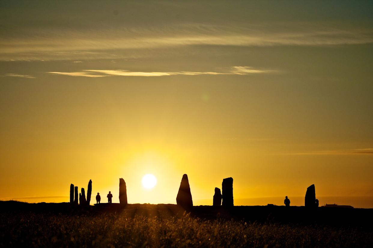 "<h1 class=""title"">Ring of Brodgar at Sunset, Orkney</h1> <cite class=""credit"">Photo: Orkney.com</cite>"