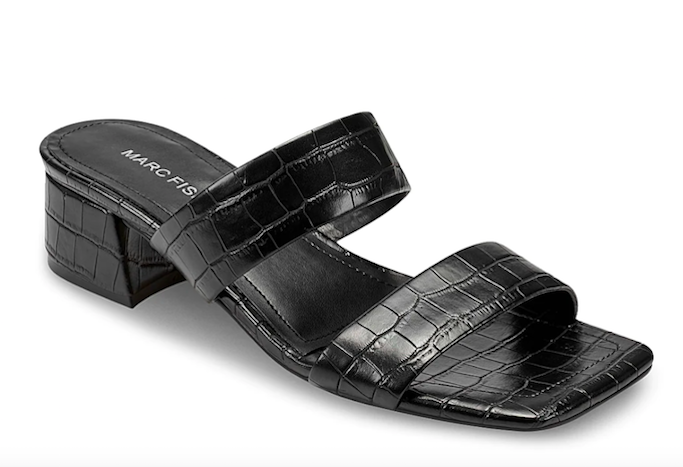 marc fisher, two strap sandal