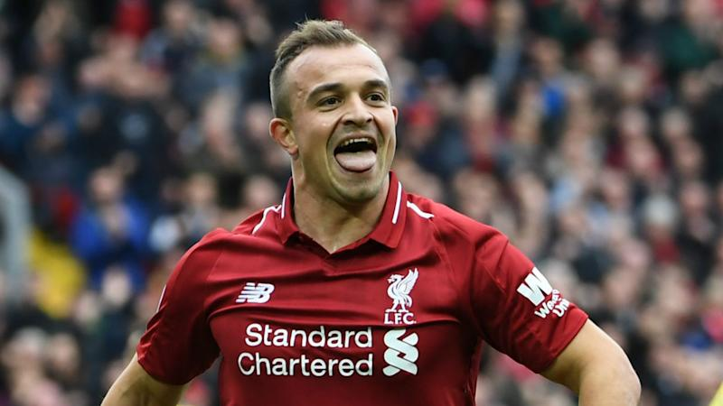 Shaqiri I'm a Champions League winner I deserve respect at Liverpool