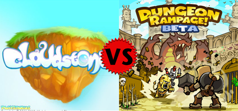 Dungeon Rampage vs Cloudstone