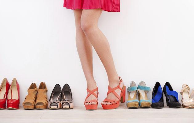 When it comes to shoe shopping, choose substance over style. Your feet will thank you for it.