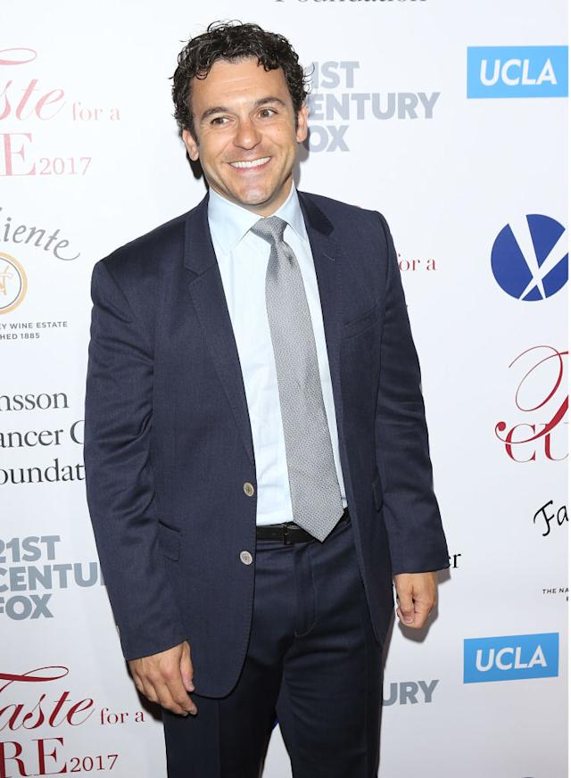 Fred Savage at a charity event in April 2017 in Beverly Hills. (Photo: Michael Tran/FilmMagic)