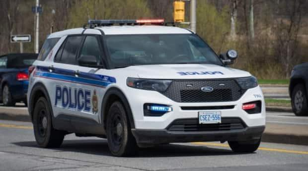 One person was taken to hospital with non-life threatening injuries, according to Ottawa police.  (Olivier Plante/CBC - image credit)