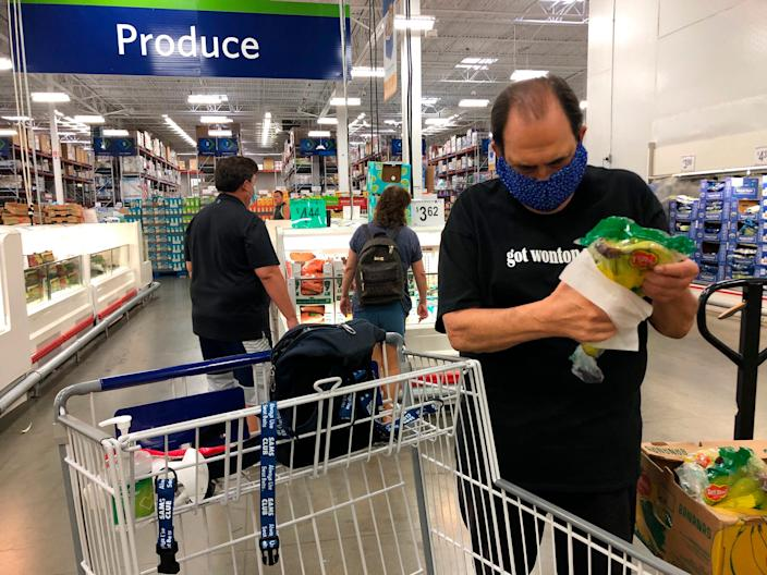 Sam's Club began requiring masks at stores and clubs nationwide on Monday, the day the St. Cloud City Council in Minnesota was considering its own mask ordinance.