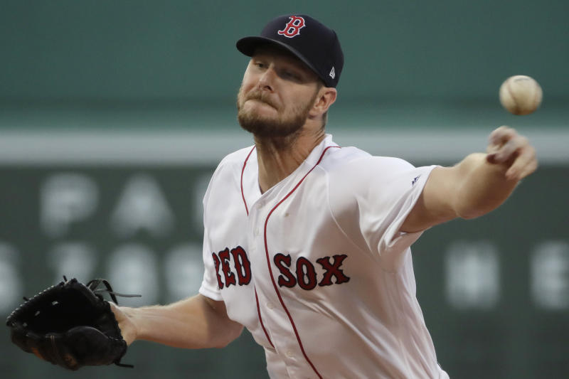 Chris Sale To See Dr. James Andrews About Elbow