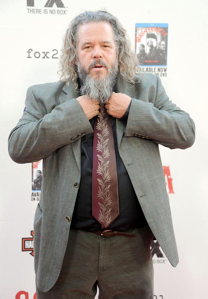 "Mark Boone Jr. attends the ""Sons of Anarchy"" Season 5 premiere screening at Westwood Village on September 8, 2012 in Los Angeles, California."