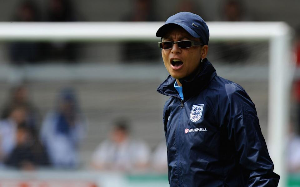Hope Powell became England's first black manager in the men or women's game - Getty Images