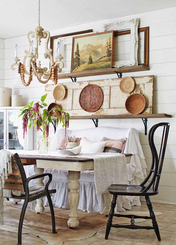 Tour A Family Home That S Filled With Flea Market Finds
