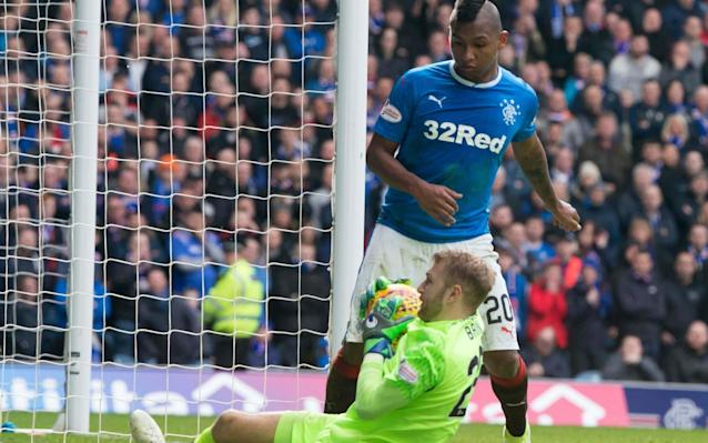 "Rangers forward Alfredo Morelos paid the price for his notorious miss against Celtic last week when he was relegated to the bench for the visit of Kilmarnock on Saturday. However, the 21-year-old Colombian, who was the subject of an £8 million bid by Beijing Renhe, which Rangers rejected during the January transfer window, will regain his confidence, according to the Ibrox assistant coach, Jonatan Johansson. The Finn was speaking both from the point of view of a former Rangers striker – he played for the club between 1997 and 2000 – and as the man whose assessment of Morelos was crucial in persuading ex-Ibrox manager Pedro Caixinha to bring him to Glasgow from HJK Helsinki last summer. ""People forget sometimes how young Alfredo is because he plays such a physical game,"" Johansson said. ""In the last two or three years he has moved countries and had to learn new languages, so these have been big changes for him. Moving from Finland to Rangers is a huge step up. Missing chances will make him angry. ""No one at this club doubts what Alfredo can do. The fans seem to love the way he plays. Every career has highs and lows, so that is something that will make him stronger. He is such an important player for us. ""Alfredo is very strong in what he gives to the team. His movement is good, he is a goalscorer and he creates chances for others. ""In every game he gets into three or four positions to score and that's what you want from your striker. As long as he keeps making those chances his goals will keep coming."" One unavoidable assessment passed on all Rangers forwards is their effectiveness against Celtic. Last weekend, aside from missing an open goal from close range, Morelos failed to beat the stand-in Hoops goalkeeper, Scott Bain, with another gift chance. He also had three excellent chances in the Old Firm derby at Celtic Park in December, none of which he converted. ""You want to score against your big rivals in any league,"" Johansson said. ""I think the way he has played in the two games and the way he has created chances in them and caused problems shows how good he is. ""The goals unfortunately didn't come but I'm sure they will. He has been on a long journey for such a young lad, but he is a tough boy. He has a great personality but he doesn't speak English that well, so he is taking lessons. ""Once he gets the language it will help him even more. He loves playing football and you see him coming alive in games and even in training. He is very happy with life right now."" When the bid for Morelos came from China there was speculation that the player was unsettled in Glasgow, especially after Caixinha was sacked in October, depriving the player of a Spanish-speaking mentor. Johansson, however, dismissed the notion. ""With Alfredo it was never that he was desperate to move on because he didn't like Rangers. It just so happened that a big offer came in for him. That is great in one way because it means he is doing well for Rangers and that we as a club are doing something right. ""At that period of time the interest was back and forward and it didn't help, but now he has committed himself to the club with a new contract and that shows just how happy he is to be here at Rangers. ""I felt his good points would suit the Scottish game quite well. He is strong and likes to hold the ball up and battles with defenders, plus he scores goals. How quickly he has fitted in and the number of goals he has scored is brilliant. You never know with transfers how they will turn out but Alfredo has been great."" By half-time on Saturday, the Rangers v Kilmarnock fixture was the only Scottish Premiership fixture to remain goalless. When the deadlock was broken nine minutes after the break it was Kris Boyd – a former Rangers striker – who found the net for his 20th goal of the season after he was first to react to the rebound from a Youssouf Mulumbu effort that was blocked by Wes Foderingham. Boyd was replaced by Rory McKenzie shortly afterwards and Rangers sent on Morelos for Josh Windass at the same time but there was no further scoring, although Russell Martin came agonisingly close to an equaliser with a header that came off the underside of the Killie crossbar and then clipped the inside of a post. Elsewhere, it proved a tough afternoon for the bottom three clubs. Ross County, without a permanent manager, might have supposed that their luck had turned at home to Hamilton when Jamie Lindsay put them ahead midway through the first half. Accies, though, responded with Doug Imrie's equaliser from the penalty spot four minutes after the break and the visitors went ahead with a shot from Marios Ogboe in the 52nd minute. Andrew Davies salvaged a point for the Staggies when he made it 2-2 with 13 minutes left to play. At Tynecastle, Partick Thistle were beaten 3-0 and the damage was done before the break. Kyle Lafferty opened the scoring for Hearts after 17 minutes and, within four minutes of that strike, the Jags were further behind when Joaquim Adao supplied Steven Naismith for Hearts' second goal. John Souttar added another a few seconds before the interval. Dundee have endured turbulence lately and their situation deteriorated when a fumble by their goalkeeper, Elliot Parish, allowed Graeme Shinnie to put Aberdeen ahead at Pittodrie in the 35th minute, with what proved to be the only goal of the game."