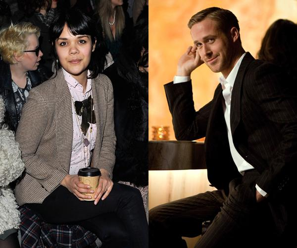 Natasha Khan of Bat for Lashes: 'I can think of a certain hot actor I'd like to sit next to but I'm not going to mention his name… Okay, it's Ryan Gosling!'