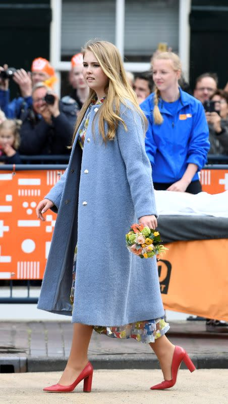 FILE PHOTO: Princess Catharina-Amalia of the Netherlands takes part in King's Day in Amersfoort, Netherlands April 27, 2019
