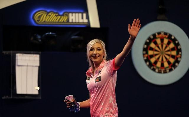 Fallon Sherrock became the first women to win a game in the PDC World Championship  at Alexandra Palace