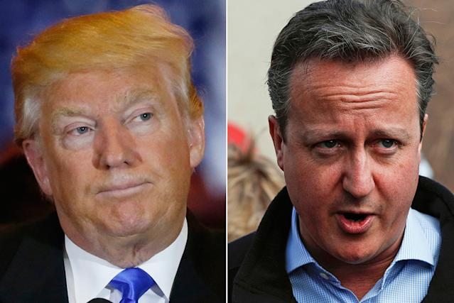 Donald Trump, David Cameron