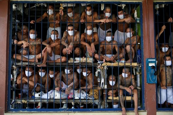 Overcrowded cells are the norm in many of El Salvador's prisons