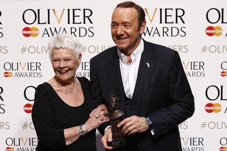 Judi Dench and Kevin Spacey (Credit: Getty)
