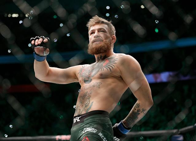 Conor McGregor appeared to announce on Wednesday that his alleged retirement is over. (AP)
