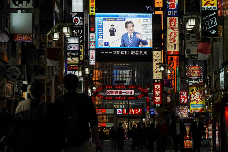 Japan's battle with pandemic may mark end of Abe's fiscal experiment