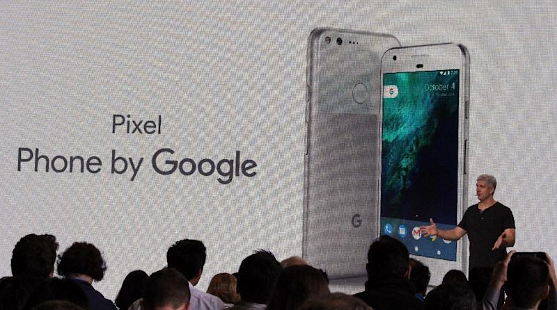 Google Assistant software is being built into new Pixel handsets -- aiming to outdo Apple's Siri (AFP Photo/Glenn Chapman)