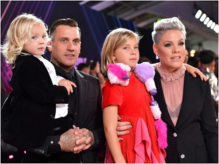 Casey Hart Pink family