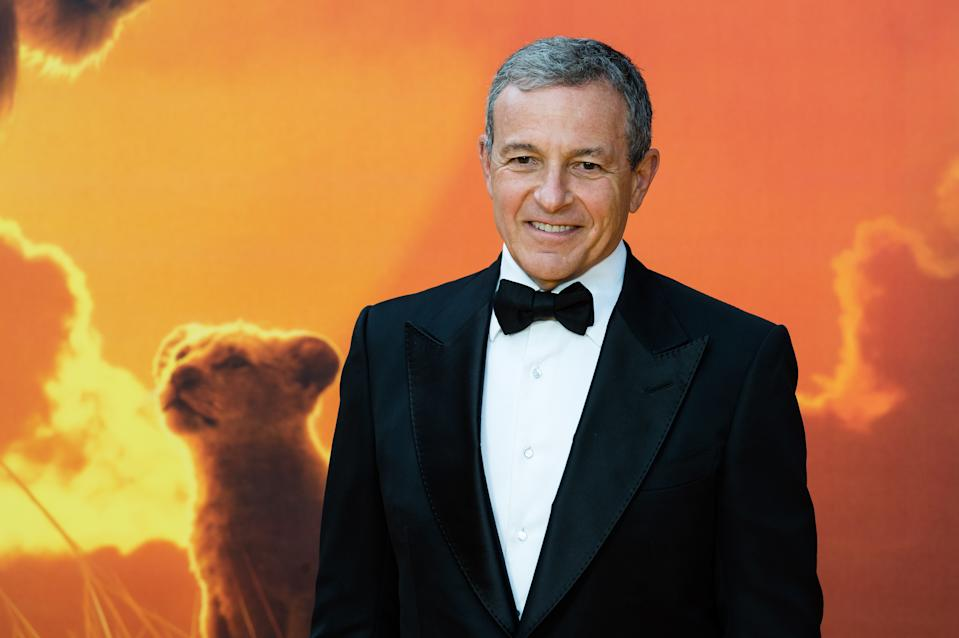 Bob Iger attends the European film premiere of Disney's 'The Lion King' at Odeon Luxe Leicester Square on 14 July, 2019 in London, England (Photo by WIktor Szymanowicz/NurPhoto via Getty Images)