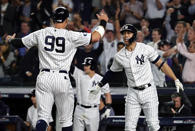 The New York Yankees will play the Boston Red Sox in the ALDS. (Getty Images)