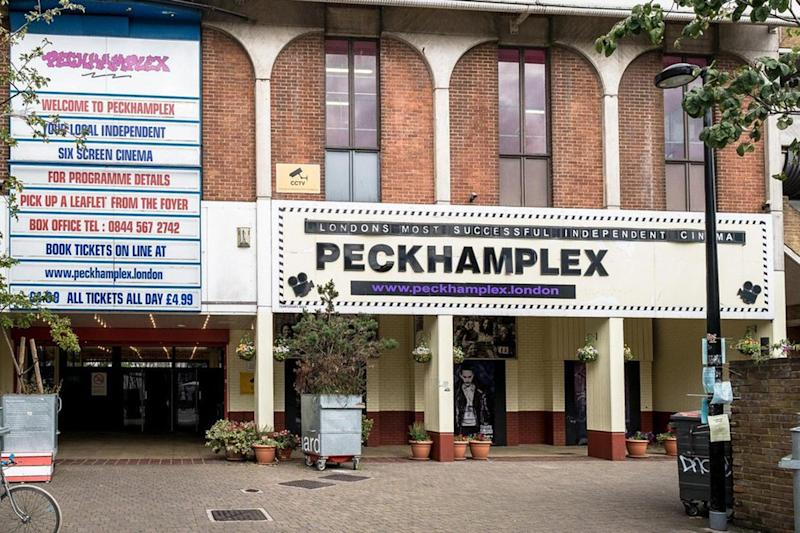 Peckhamplex: Campaigners are battling to save the popular cinema: Twitter/Peckhamplex