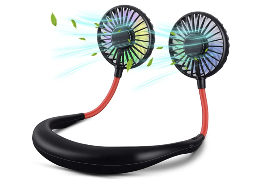 This sporty fan is perfect for runners. (Photo: Amazon)