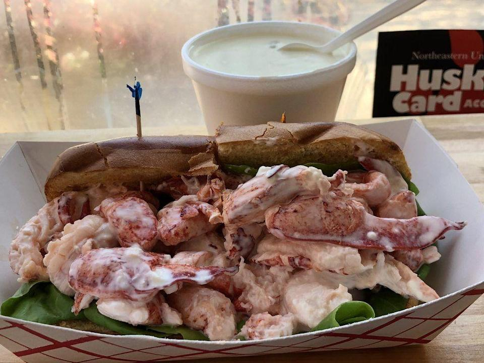 "<p><strong><a href=""https://www.yelp.com/biz/lobstah-on-a-roll-boston"" rel=""nofollow noopener"" target=""_blank"" data-ylk=""slk:Lobstah On A Roll"" class=""link rapid-noclick-resp"">Lobstah On A Roll</a>, Boston</strong></p><p>""Lobster heaven!!! Such a generous portion on our 'Two if by Sea'."" — Yelp user <a href=""https://www.yelp.com/user_details?userid=OlOJ_XLKGfxqFOSiO5inDg"" rel=""nofollow noopener"" target=""_blank"" data-ylk=""slk:Christine A."" class=""link rapid-noclick-resp"">Christine A.</a></p><p>Photo: Yelp/<a href=""https://www.yelp.com/user_details?userid=y9pbTXFYD0_EkxFXdCR1-Q"" rel=""nofollow noopener"" target=""_blank"" data-ylk=""slk:Mai H."" class=""link rapid-noclick-resp"">Mai H.</a></p>"