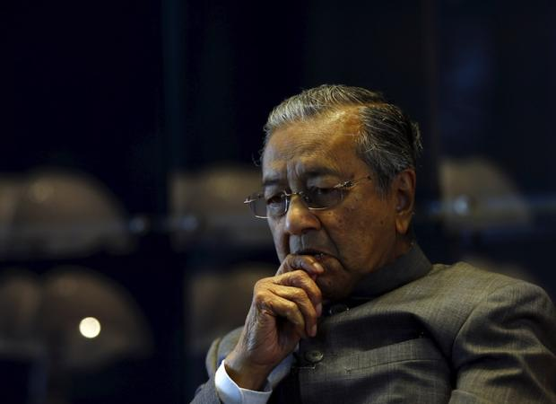 Datuk Seri Anwar Ibrahim said today that Tun Dr Mahathir Mohamad (pic) is not like Robert Mugabe as the former is prepared to make necessary changes for the people. — Reuters pic