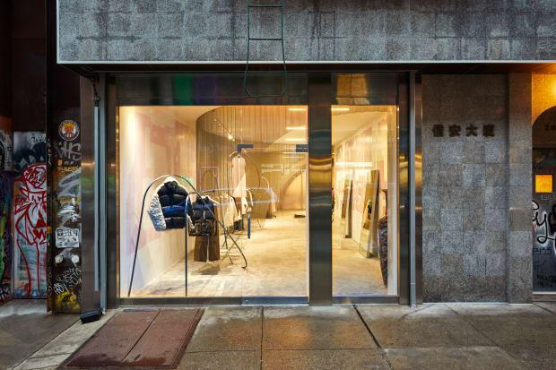 <p>Sandy Liang's first-ever store. Photo: Jonathan Hokklo/Courtesy of Sandy Liang</p>