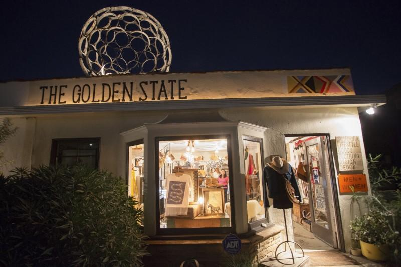 The Golden State Store is pictured in Venice, California