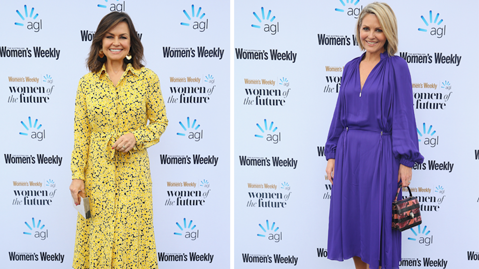 She rubbed shoulders with Karl's former Today co-host Lisa Wilkinson and his current co-host Georgie Gardner who were also at the event. Photo: Getty