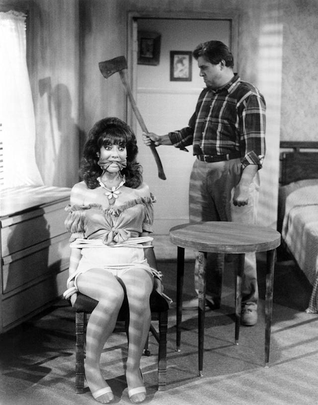 """<p><strong>""""Poppy's By the Tree"""" (1987)</strong><br><br>The second season of the early Fox sitcom kicked off with a two-parter about the Bundys vacation to Dumpwater, Fla., a place best known as the hometown of the man who met Andy Griffith. Al Bundy's cheapness meant his family stayed at a cut-rate motel where an axe murderer who hated tourists turned up for his recurring reign of terror. The maniac kidnapped poor Peg, but the locals were more interested in placing bets on what time <em>all </em>of the Bundys would get axed.<br><br>(Photo: Everett Collection) </p>"""