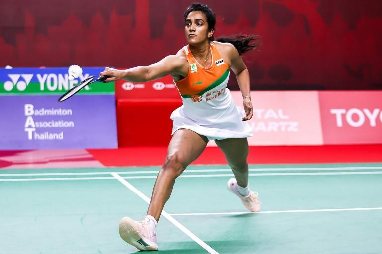 India's PV Sindhu on her way to victory against Busanan Ongbamrungphan 21-17, 21-13 in Bangkok on Tuesday in the second of two back-to-back Thailand Opens
